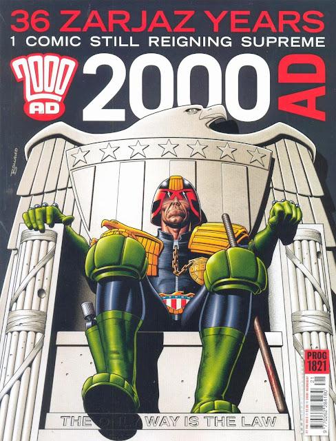 Resultado de imagen para 2000 ad cover