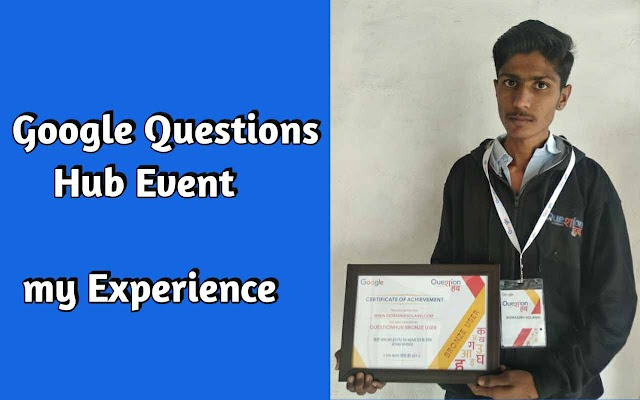 My Google Questions Hub Event Experience
