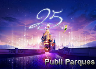 Disneyland Paris 25 aniversario