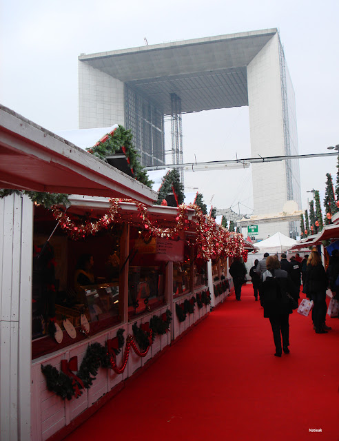 Le marché de Noël de la Défense