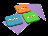 Rumus Excel Merubah Jenis Huruf Besar Kecil