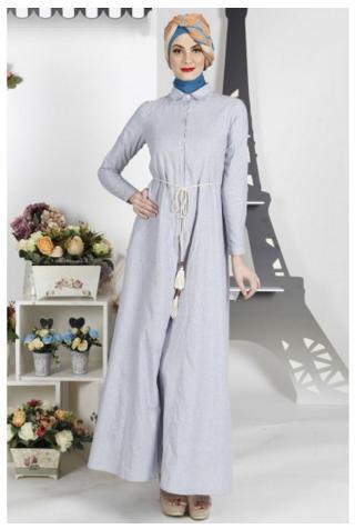 10 Contoh Gamis Cantik Dari Katalog Zoya Busana Muslim 2016 Trend