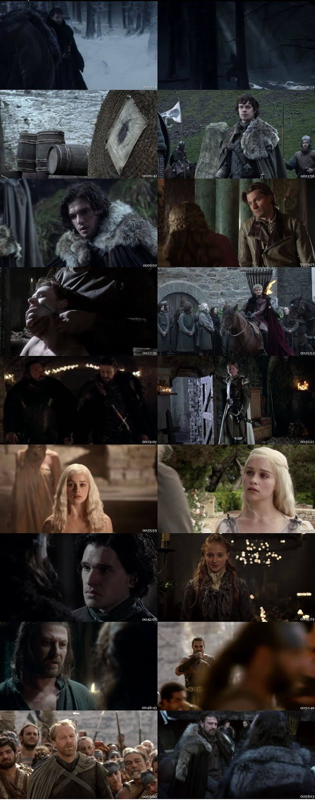 Game of Thrones S01 Complete Dual Audio 720p BRRip [Hindi – English] 1