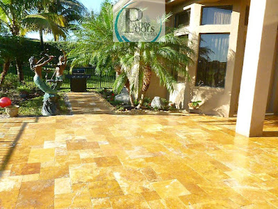 #travertinepavers #patiodeck