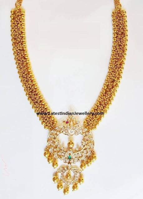 Chandbali Pendant Muvvala Haram