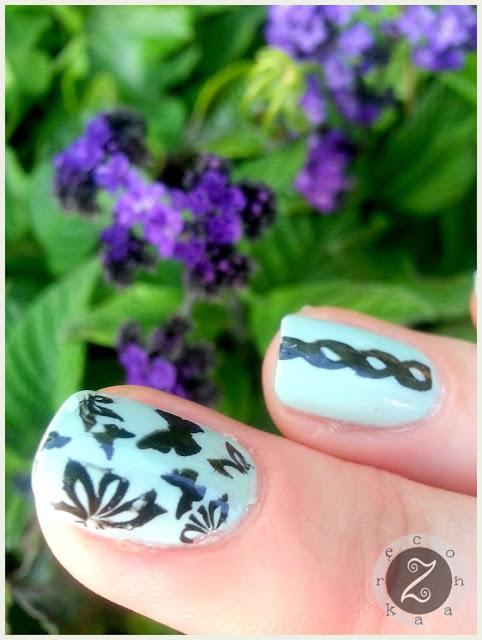 tania plytka do stemplowania paznokci