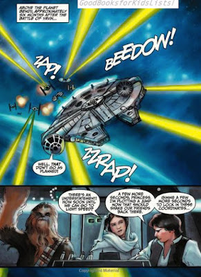 sample page #1 from CHEWBACCA AND THE SLAVERS OF THE SHADOWLANDS