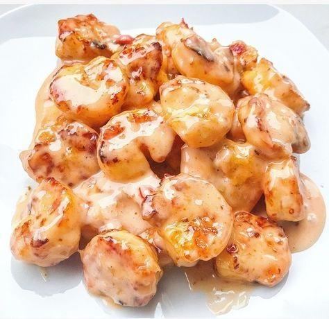 Air Fryer Bang Bang Shrimp Lightened Up