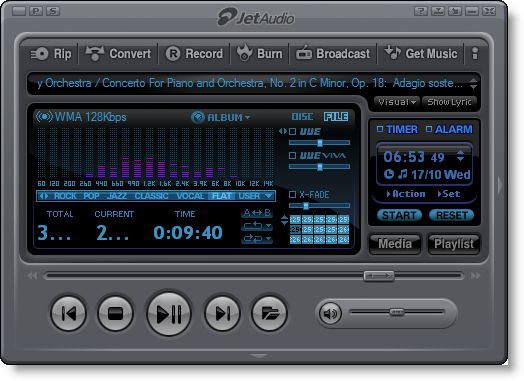 Jet Audio 8.1.1 Plus VX Terbaru