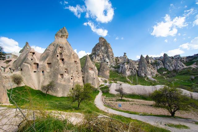 Punto panoramico tra Goreme ed Uchisar-Cappadocia