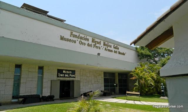 Museu Ouro do Peru - Lima