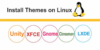 Install themes on Linux