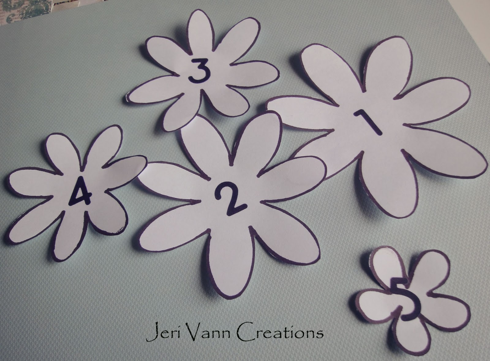 Fotobella lost and found flower tutorial for Paper cut out templates flowers