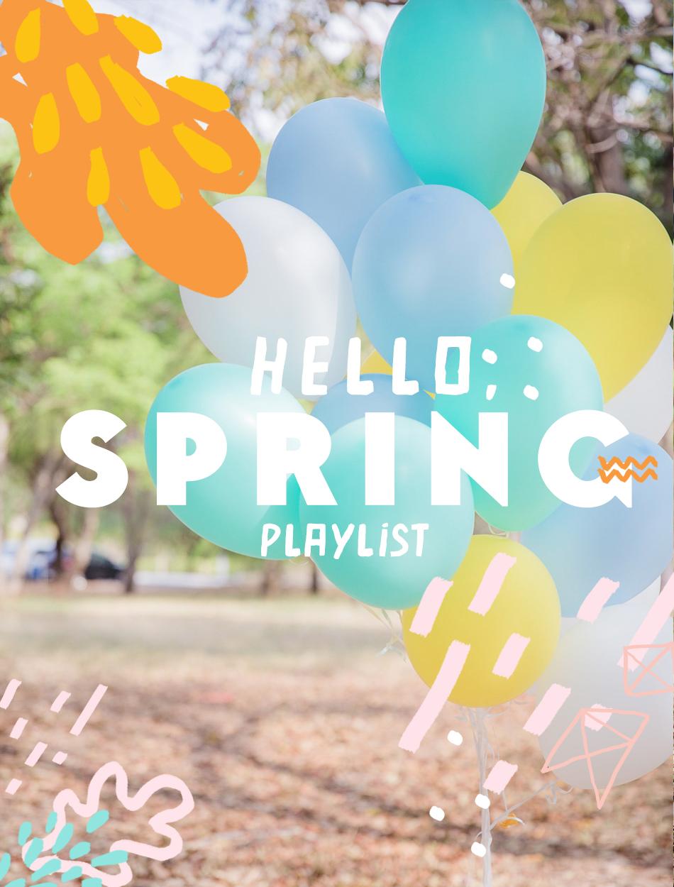 spring party songs foto alba apen flor de sol fotografia