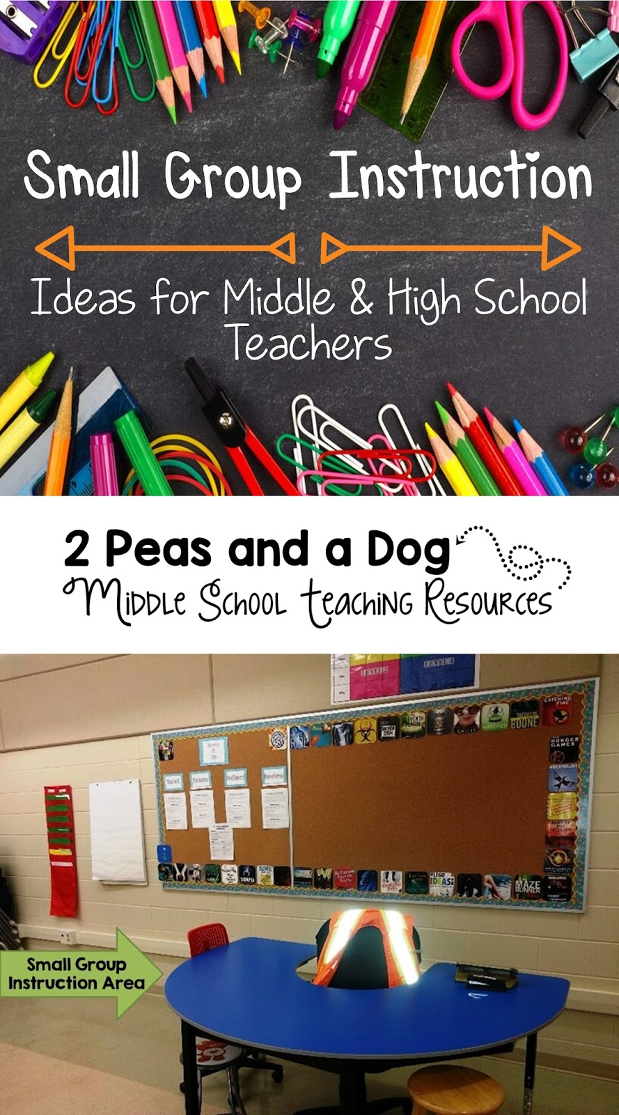 Classroom Grouping Ideas ~ Small group instruction ideas for middle and high school