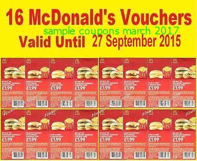 Mcdonalds coupon december 2018
