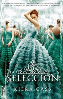 Novela La selección de Kiera Cass