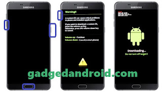 Cara Flash Samsung Galaxy A7