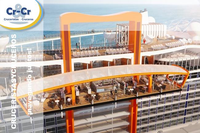 ► Celebrity Cruises presenta Celebrity Edge, un barco diseñado para superar expectativas