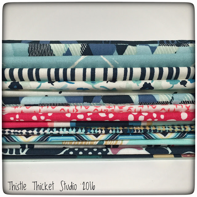 Thistle Thicket Studio, Pat Bravo, Art Gallery Fabrics, Dare Fabric, Essential II Fabric, quilting fabric