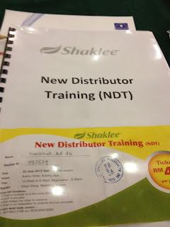 shaklee new distributor training