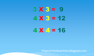 gambar perkalian dibawah angka 5