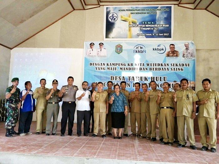 Desa Tabuk Resmi Jadi Kampung KB