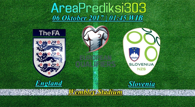 Prediksi Skor Inggris vs Slovenia 06 Oktober 2017