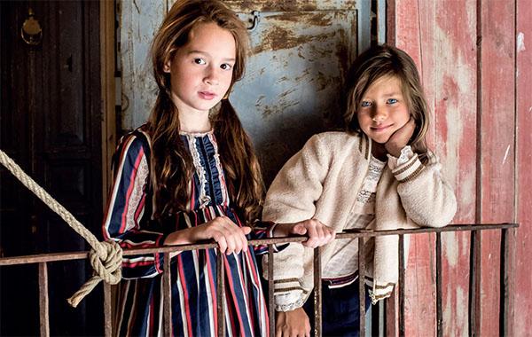 Vestidos, blusas y sweaters otoño invierno 2018 ropa para niñas.