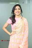 Actress Ritu Varma Pos in Beautiful Pink Anarkali Dress at at Keshava Movie Interview .COM 0017.JPG
