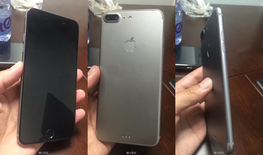 iPhone 7 Plus Prototype Images