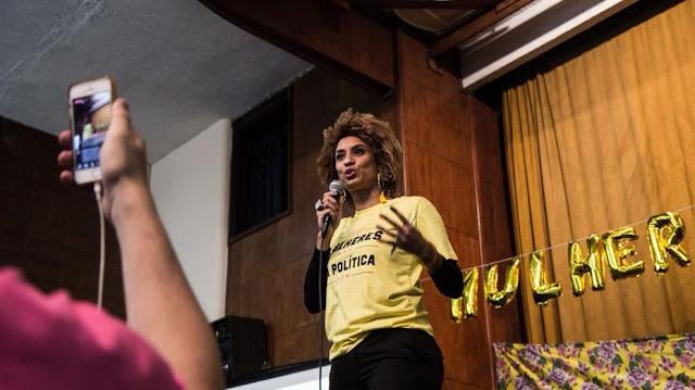 Ato contra execução da vereadora Marielle Franco é realizado no Recife