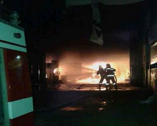 Kebakaran Bengkel Banoli Jaya Disebabkan Korsleting Listrik
