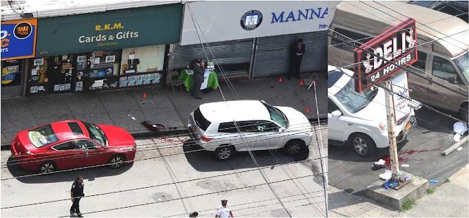 Dos hombres y una mujer son asesinados por un pistolero en una calle de El Bronx