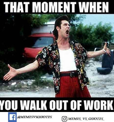 Walk out of work