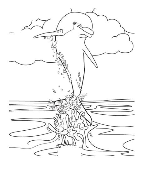 dolphins coloring pages printable | Dolphin Coloring Pages | Coloring Pages to Print