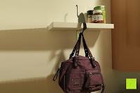 Tasche: ARTORI Design AD273B - Louis' Paw - Black Metal Cat Decorative Balance Hanger by Artori Design