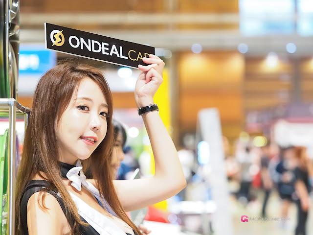 2 Song Da Mi - Seoul Auto Salon - very cute asian girl-girlcute4u.blogspot.com