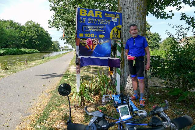 De Paris à Narbonne en vélo, Pique-nique