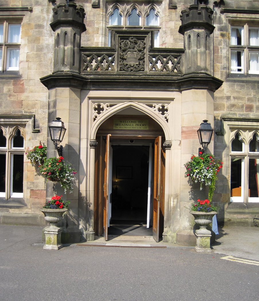 Entrance Breadsall Priory
