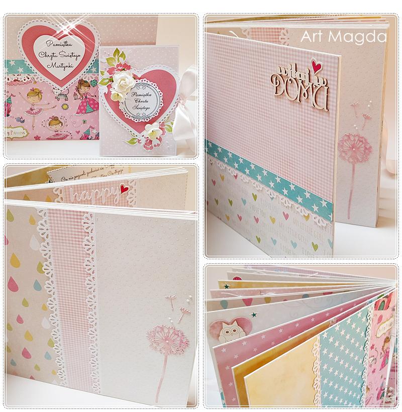 ArtMagda Handmade, albumy ręcznie robione, dla dziecka