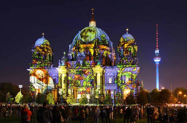 The Festival of Lights 2017 in Berlin