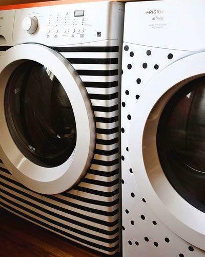 decorar máquina de lavar, adesivo para maquina de lavar