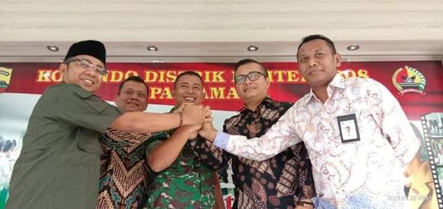 Jelang Tahapan Krusial Pemilu, Bawaslu Padangpariaman Perkuat Koordinasi dengan TNI-Polri