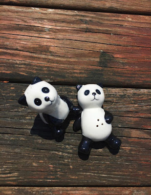 Panda Salt and Pepper Shaker Set