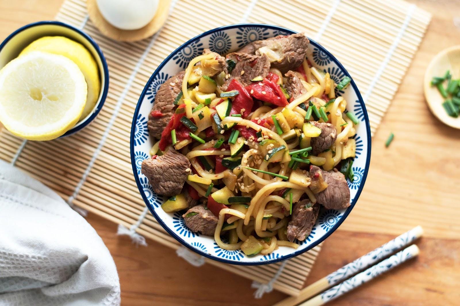 recette plat asiatique