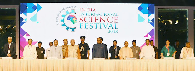 President of India inaugurates 4th India International Science Festival