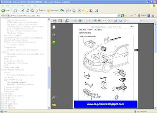 Toyota Avalon workshop Manual
