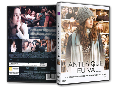 Capa DVD Antes Que Eu Vá (Oficial)