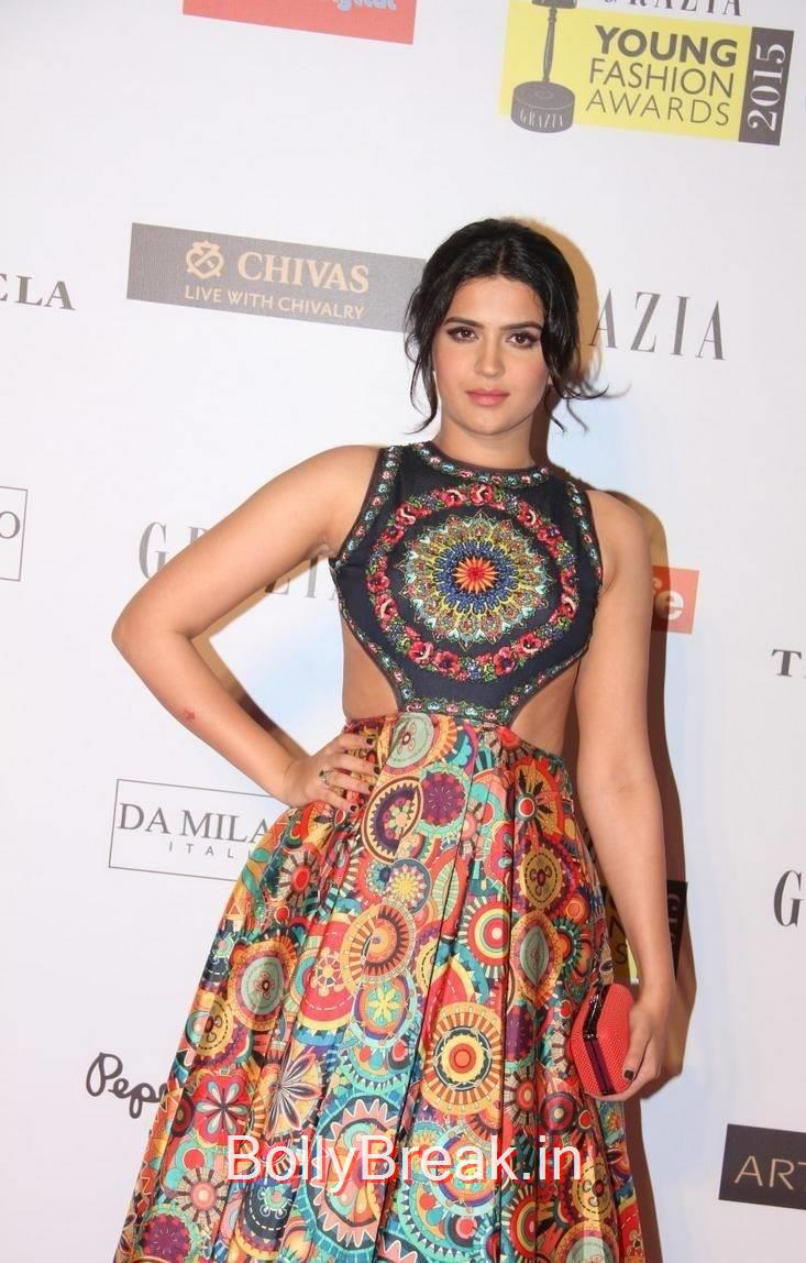 Deeksha Seth Unseen Stills, Deeksha Seth Hot Pics from Grazia Young Fashion Awards 2015